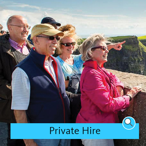 Tourists on Private Hire